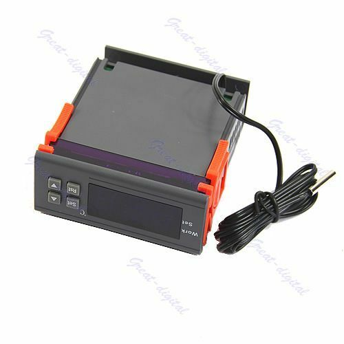 Thermostat Automatic Digital Temperature Controller 12V 110V 220V Control Switch