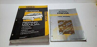 1993 Toyota Previa Shop Service Electronic Wiring Diagram Repair Manual |  eBayeBay