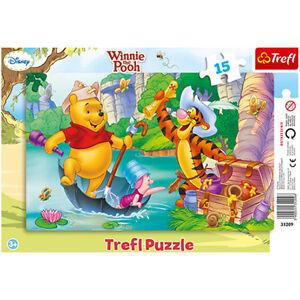 TREFL-puzzle-15-pieces-DISNEY-Winnie-Tigrou-Porcinet-3-NEUF