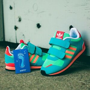 Details about adidas Originals ZX 700 CF Kids Trainers Girls Boys Green SIZE 4 6 7 Infant