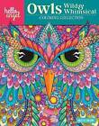 Hello Angel Owls Wild & Whimsical Coloring Collection by Angelea van Dam (Paperback, 2016)