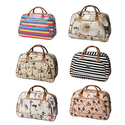 Travel Luggage Overnight Bag Women Weekender Storage Carry On Duffel Bags Ebay