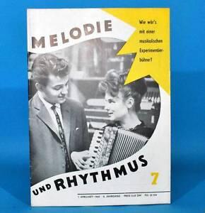 DDR-Melodia-y-Rhythmus-7-1964-Hartmut-Eichler-Bykowski-Markneukirchen-Plauen