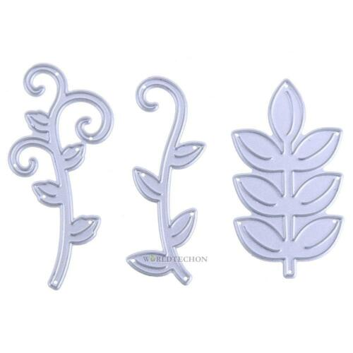 Plant Flower Leaf Metal Cutting Dies for DIY Scrapbooking Photo Album Stencil