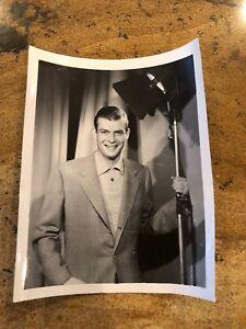 Vintage-Black-amp-White-Photo-Of-Unknown-Actor-4-X-5