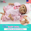 "16/""40cm Reborn Baby Toy Soft Silicone Vinyl Gentle Touch Newborn Girl Doll"