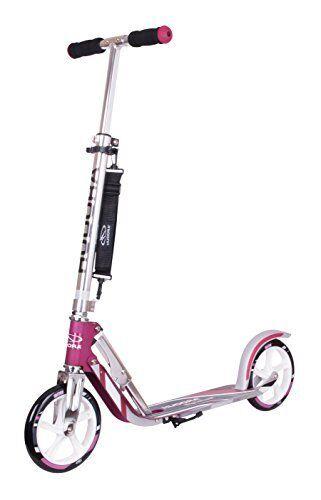 HUDORA Big Wheel Scooter 205 City Roller P2-03.3-9511 magenta/silber