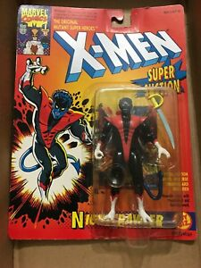1993-TOY-BIZ-THE-UNCANNY-X-MEN-NIGHTCRAWLER-SUPER-SUCTION-MOC-MARVEL-COMICS