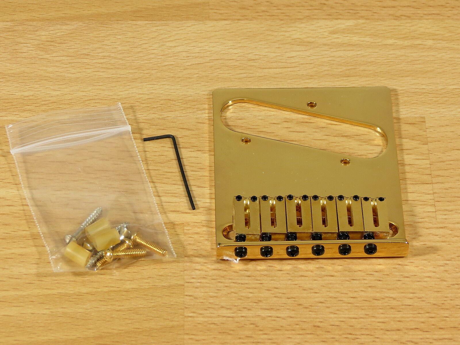 Fender American Telecaster Puente y y y sillas de montar oro Standard  nuevo  en todo el mundo  2117ca