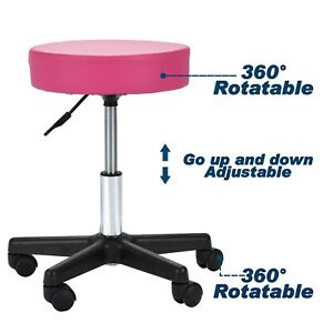 Sensational Details About Adjustable Hydraulic Rolling Salon Barber Stool Chair Tattoo Massage Facial Spa Gmtry Best Dining Table And Chair Ideas Images Gmtryco