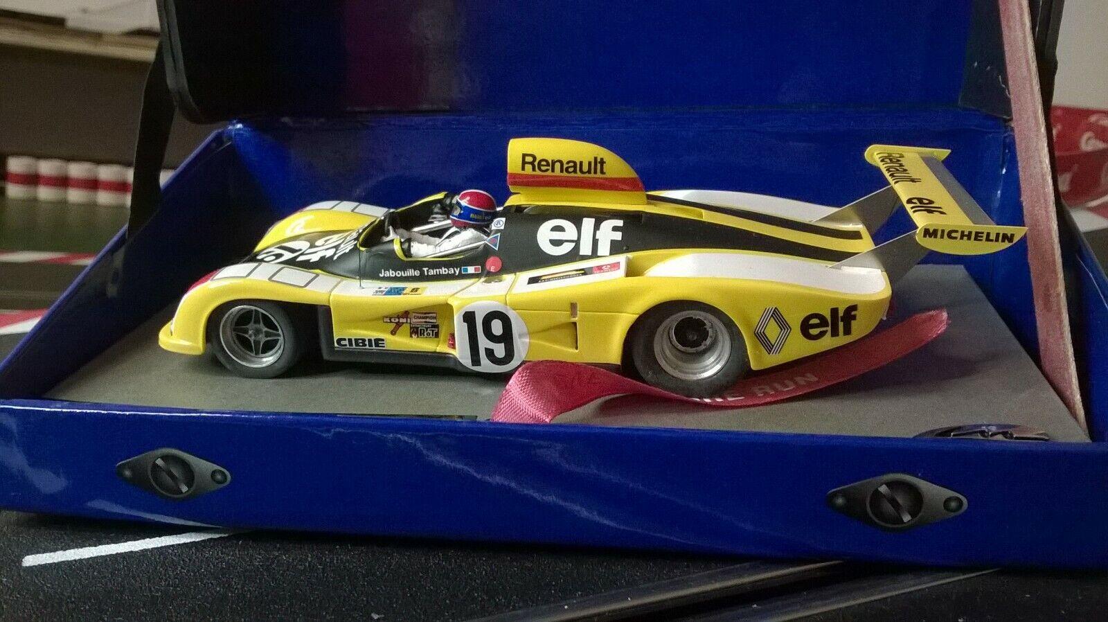 Renault Alpine a442 Elf  19 Ret 24 H  LeMans 76 Slot LE Mans Miniatures 132076-19m  avec le prix bon marché pour obtenir la meilleure marque