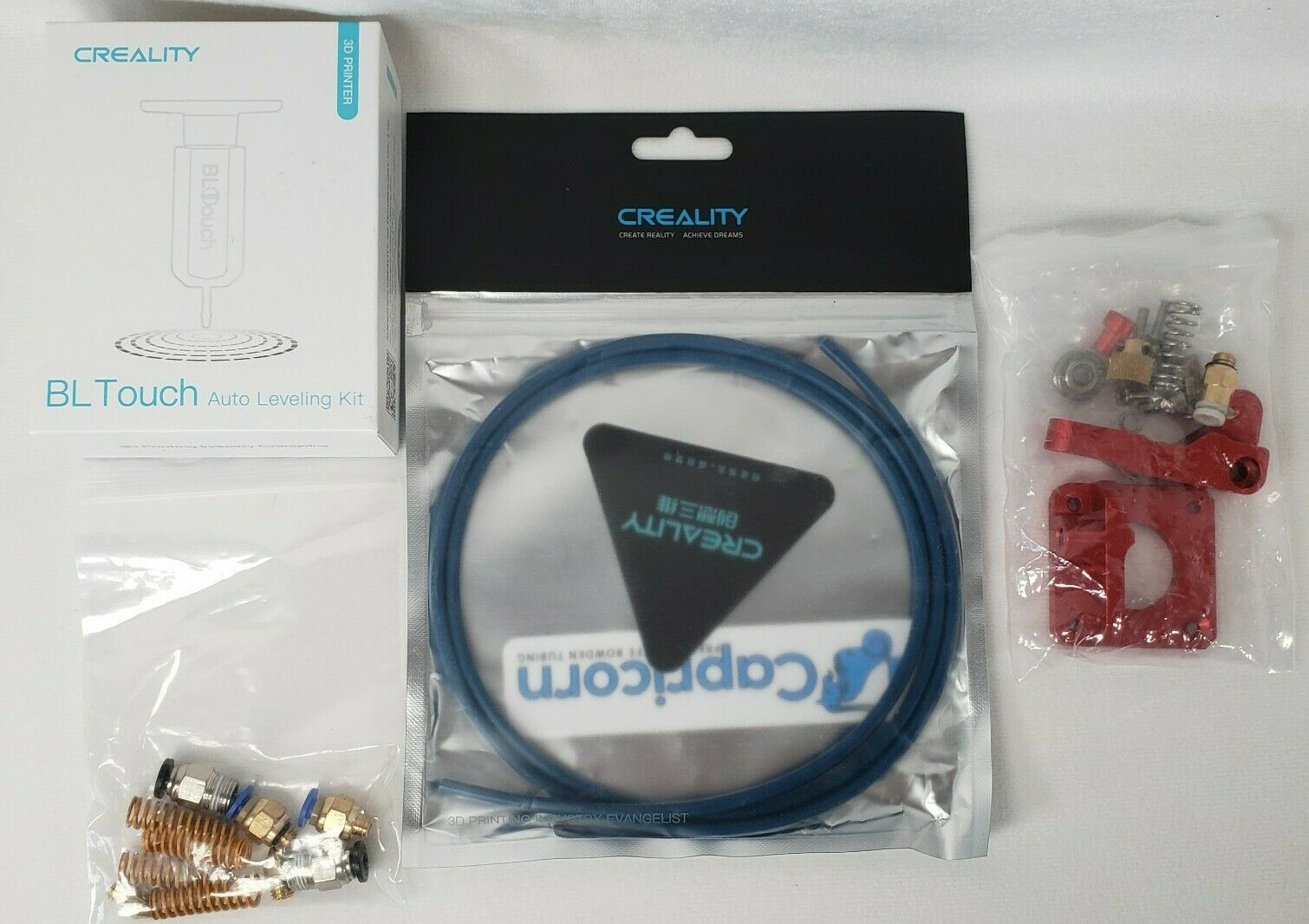 Creality BL Touch 32 Bit Motherboard Auto Leveling Kit 3d Printer Capricorn Tube