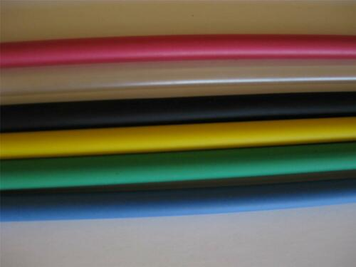 "1ea 3//16/"" inch ID Heat Shrink Tubing 2:1 Ratio Polyolefin COLORS 4/' ft Long 48/"""