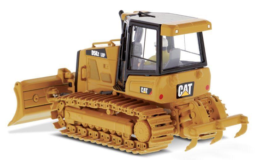 Diecast Escala 85281 1 50 Masters Cat D5K2 LGP seguimiento tipo tractor (MIB)