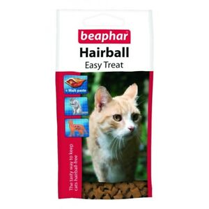 Beaphar Cat Hairball Easy Treat Chat Chatons Longs Cheveux Races 35 G Pack De 6-afficher Le Titre D'origine Alu5o4gx-10123751-450941112