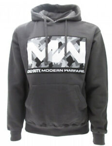 Sweatshirt Call Of Duty Modern Warfare Original Official Black
