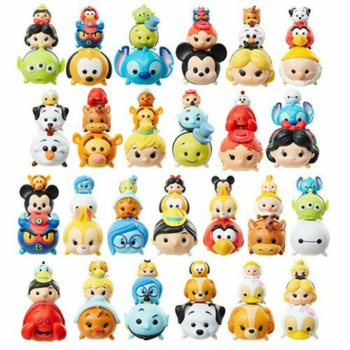 SET MINI FIGURE TSUM TSUM DISNEY 3-PACK PLUTO TRILLY TINKERBELL WINNIE THE POOH