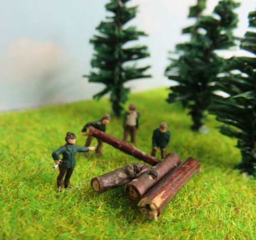 Kit03 1:220 Waldarbeiter Set Figuren Spur Z