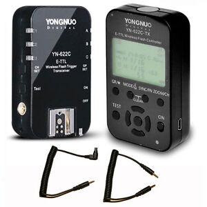 YONGNUO YN-622C-TX TTL Flash Controller + YN-622C Trigger Transceiver for Canon