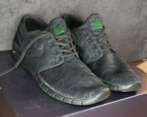 good selling buying now buy Details about Nike Stefan Janoski Max SB Green / Black Mens Skate Shoes  [631303-003] Size 11.5