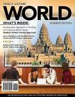 WORLD (with Review Cards and History CourseMate with eBook, Wadsworth World History Resource Center 2-Semester Printed Access Card) by Craig Lockard (Mixed media product, 2010)