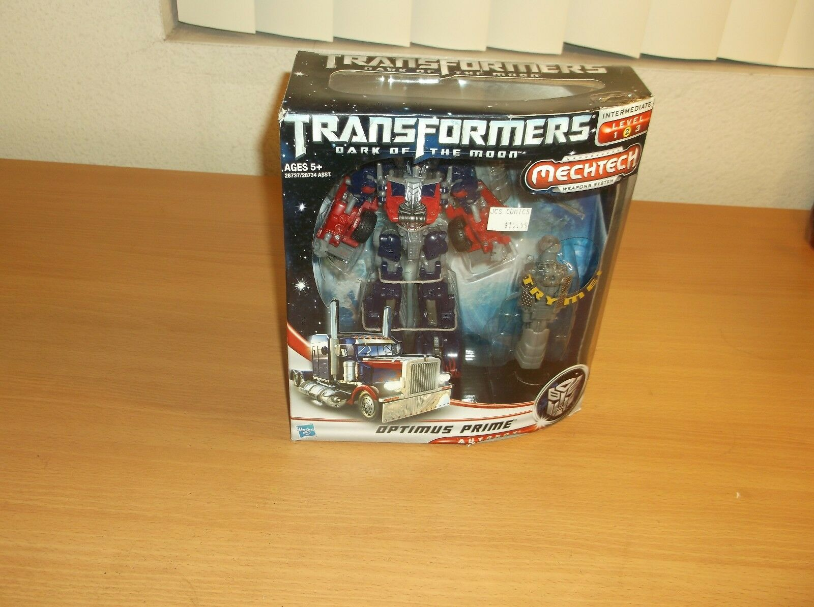 HASBRO  TRANSFORMERS  DOTM  MECHTECH WEAPONS SYSTEM, OPTIMUS PRIME, 2010