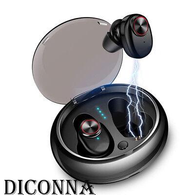 Mini TWS True Wireless In-Ear Stereo Bluetooth 5.0 Earphones Earbuds Headset ES