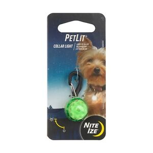Nite Ize SpotLit LED Carabiner Light Lime Green w//White LED Mini Keychain Beacon