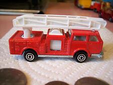 Majorette Pompier Pumper Fire Engine Truck #207 ECH: 1/100 - France (Good)