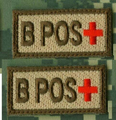 DAESH WHACKER SFG GREEN BERETS SAS JTF2 KSK burdock-hook Blood Type TAB NKA X 2
