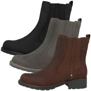 Das Bild wird geladen Clarks-Orinoco-Hot-Women-Schuhe-Damen-Boots-Stiefel- a3fe3e8076