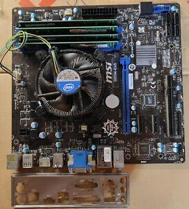 Bundle MSI B85M-E45 LGA 1150 +Core i5 4460 4 x 3,20 GHz, 8 GB RAM, TOP ZUSTAND