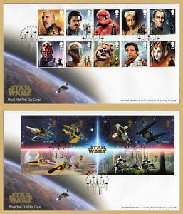 2019-conjunto-de-sello-de-Star-Wars-O-Mini-hoja-primer-dia-cubiertas-eleccion-flota-gomigrafo