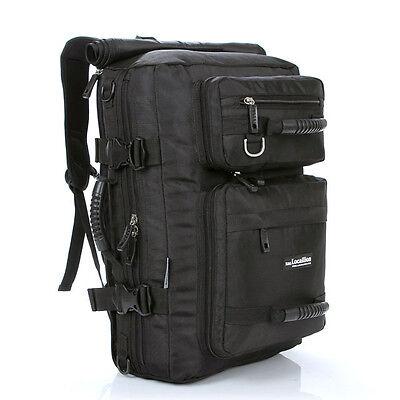 Men's Travel Rucksack Backpack Luggage School Camping Shoulder Bag Handbag