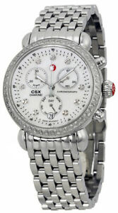 3940d65394045 Image is loading Brand-New-Michele-Signature-CSX-36-Diamond-Women-