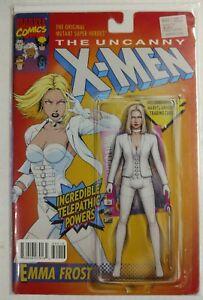 Uncanny X-Men #600 Emma Frost Action Figure Variant ACTION FIGURE Cover