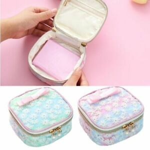Details About Cute Embroidery Sanitary Pad Organizer Holder Napkin Towel Convenience Bags