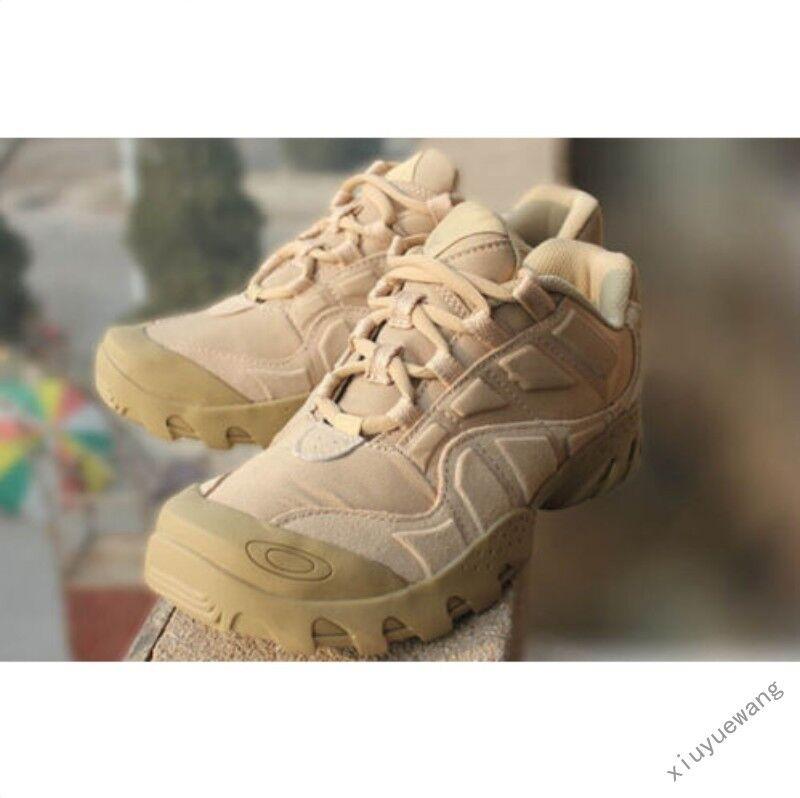 Hombres con cordones Fuerzas Militar Ejército botas al Tobillo Zapatos De Senderismo Tácticas De Combate Desierto
