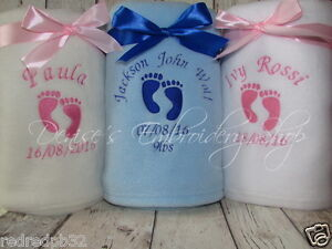 PERSONALISED-BABY-BLANKET-FLEECE-BABY-FEET-EMBROIDERED-GIFT-NAME-DATE-WEIGHT