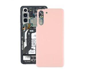 Deckel Hinten Ventilkappen Akku Für Samsung Galaxy S21 Rosa