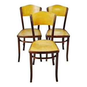 Image Is Loading Vintage 1920 039 S Fischel Bentwood Cafe Chairs