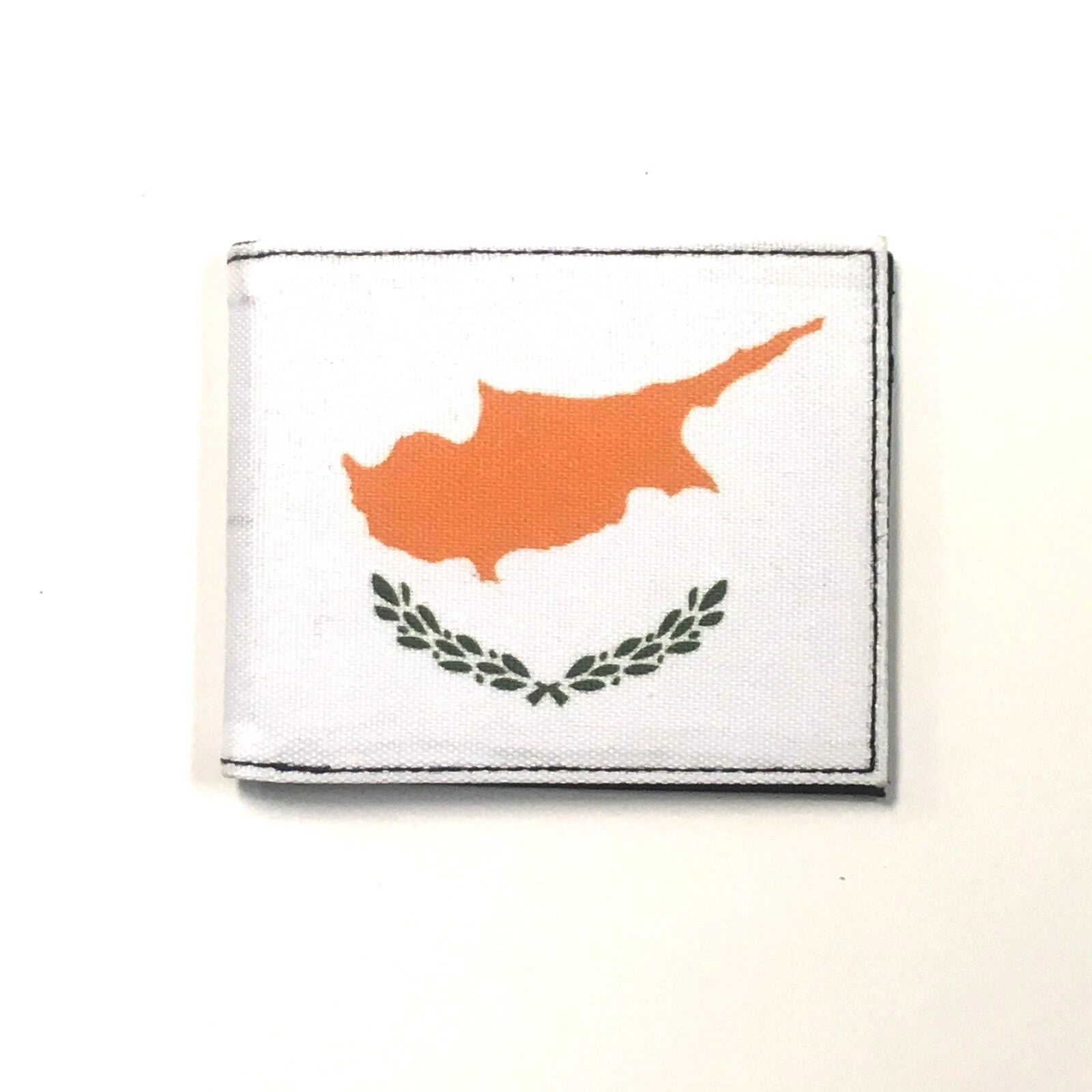 Cyprus Country Flag Canvas Bi Fold Wallet ID Card Holder New