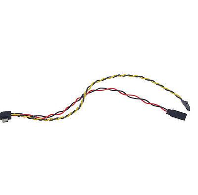AV Video Output Cable FPV Image Transmission Line Micro USB to AV / 5V Power