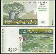 MADAGASCAR P95***2000 ARIARY COMMEMORATIVE***ND 2007***UNC GEM***LOOK SUPER SCAN