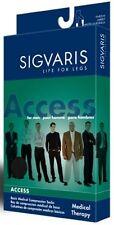 Sigvaris 922C Access 20-30 mmHg Closed Toe Calf High Compression Socks BLACK SL