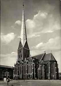 Kirchen-Motiv-Postkarte-Kirche-HAMBURG-St-Petri-Hauptkirche-ungelaufen-Church