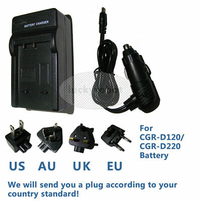 Cargador Original Panasonic VSK0581 Cgr-D120 D220 D320 D28 D08 CGA-D54 AG-DVX100