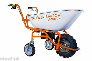 SHERPA POWER BARROW ELECTRIC 24 VOLT WHEELBARROW WHEEL BARROW RRP £899