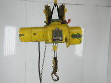 Robbins Amp Myers 12 Ton Electric Cable Hoist 220440v 3ph 13 Lift 16fpm Trolley