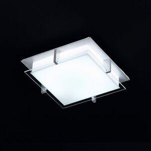 Cristal-Lampara-de-Techo-Anguloso-Incl-Ahorro-Energia-Tilo-Cocina-Luz-Bano